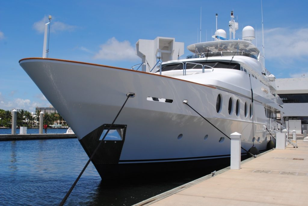 from the scrapyard to a fancy yacht